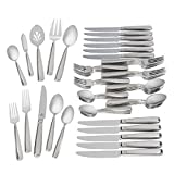 Waterford Glenridge 18/10 Stainless Steel 65-Piece Set, Service for 12