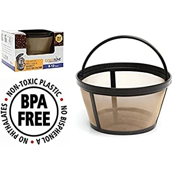 goldtone brand reusable 812 cup basket coffee filter fits mr coffee makers and