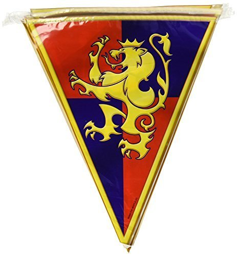 Medieval Pennant Banner 10in. x 12ft. (Medieval Pennant Banner)