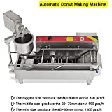 Zinnor Automatic Donut Making Machine,Automatic Donut Maker/Auto Donuts Frying Machine/Auto Molding,Auto Frying,Auto Turning,Auto Collecting