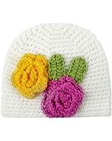 Jewelry Kingdom Infant Toddler Girl Baby Handmade Knit Crochet flowers Hat Cap