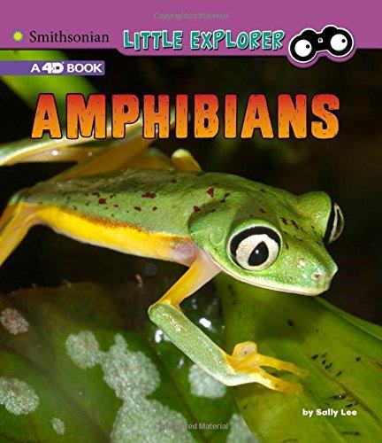 Amphibians: A 4D Book (Little Zoologist)