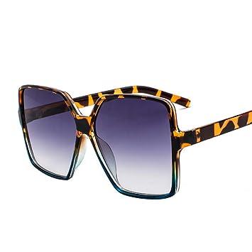 Gafas De Sol.Unas Enormes Gafas De Sol Mujer Hombre Cuadrado ...