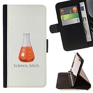 Momo Phone Case / Flip Funda de Cuero Case Cover - Ciencia divertida perra;;;;;;;; - Samsung Galaxy Note 4 IV