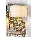 Watch Hill Lighting Gold Lattice Ball Table Lamp
