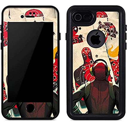 newest 287e0 58baa Amazon.com: Deadpool iPhone 7 Case - Deadpool Target Practice ...