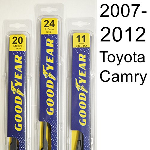 Toyota Camry (2007-2012) Wiper Blade Kit - Set Includes 24