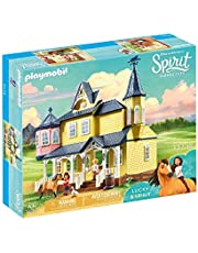 PLAYMOBIL 9475 Spirit Riding Free Lucky's House Playset, Multi-Colored