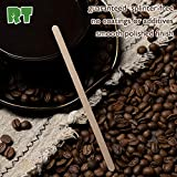 RT-Wooden coffee stirrer natural birch can be