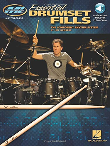 Essential Drumset Fills: Master Class Series Bk/Online Audio by Hal Leonard