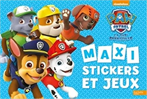 Paw Patrol - La Pat'Patrouille - Maxi stickers et jeux pdf epub