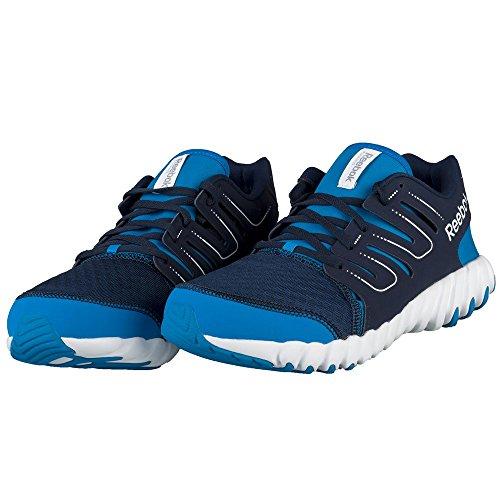 Reebok - Pantoufles En Plastique Pour Bleu Marine Homme, Bleu, Taille 45 Eu