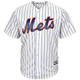 Mike Piazza New York Mets #31 MLB Men's Cool Base Home Jersey (Small)