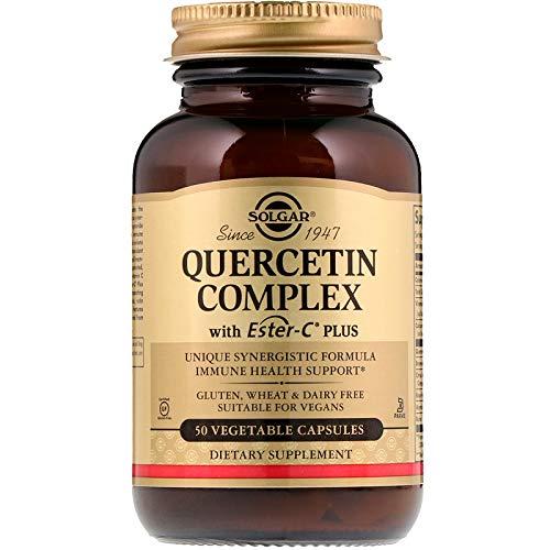 Solgar - Quercetin Complex with Ester-C Plus, 50 Vegetable Capsules