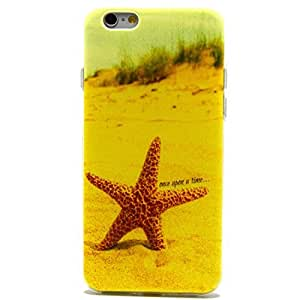 iPhone 6 Plus Case, iPhone 6 (5.5 Inch) Case - LUOLNH Fashion Style Colorful Painted Starfish TPU Case Back Cover Protector Skin For iPhone 6 (5.5 Inch)(Starfish)