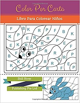 Amazon.com: Color Por Carta: Libro Para Colorear Niños ...