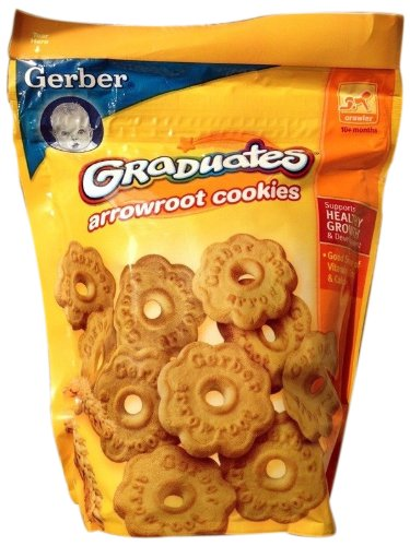 Gerber Graduates Arrowroot Cookies, 5.5 oz