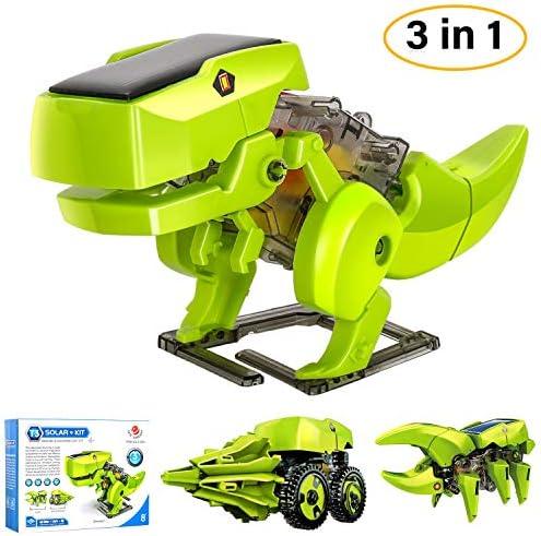 M SANMERSEN Solar Robot Kit 3 in 1 STEM Educational Toys ...