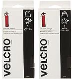 "2 Pack VELCRO Brand - MtbNKv Industrial Strength - 2"" x 4 Feet- Black"