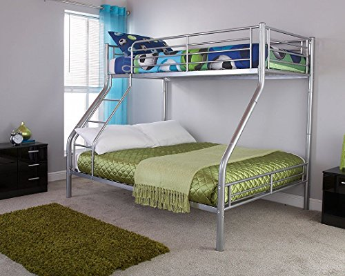 Gfw Ohio Triple Sleeper Bunk Bed Double Bed Base And