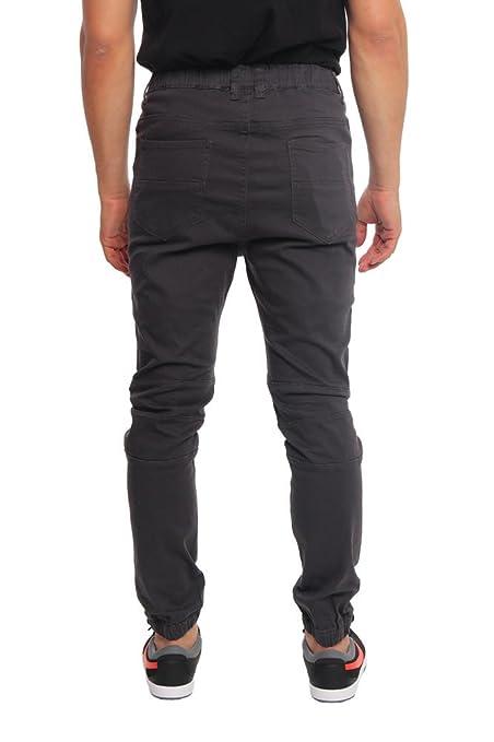 db12726d1fb Victorious Distressed Biker Denim Jogger Pants at Amazon Men's Clothing  store: