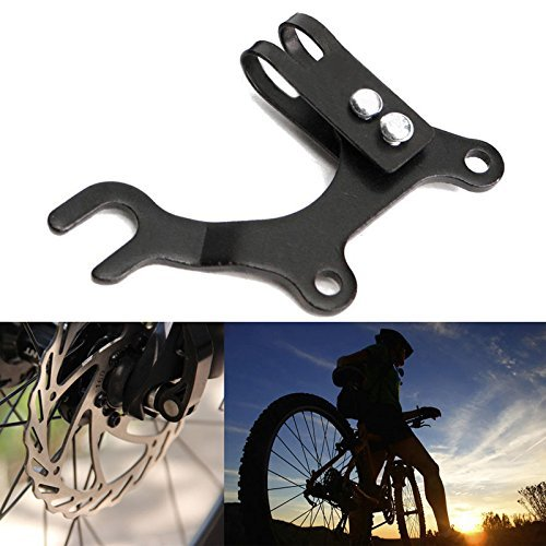 Zebra-Crossing Universal 22MM Bicycle Cycling Rear Wheel Disc Brake Bracket Bike Frame Adapter Mounting (Bike Disc Brake Adapter)