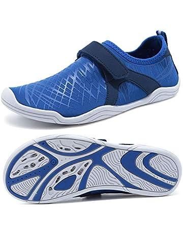 714af2e8e32 SUNNYOUNG Boys & Girls Water Shoes Lightweight Comfort Sole Easy Walking  Athletic Slip on Aqua Sock