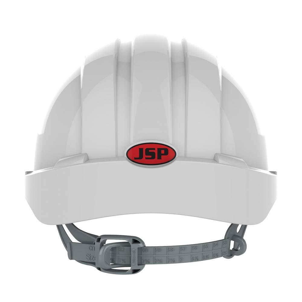 color blanco Casco de protecci/ón con orificios de aireaci/ón Evo3 JSP