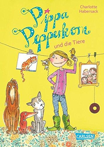Pippa Pepperkorn 2: Pippa Pepperkorn und die Tiere Gebundenes Buch – 23. August 2013 Charlotte Habersack Melanie Garanin Carlsen 3551653127