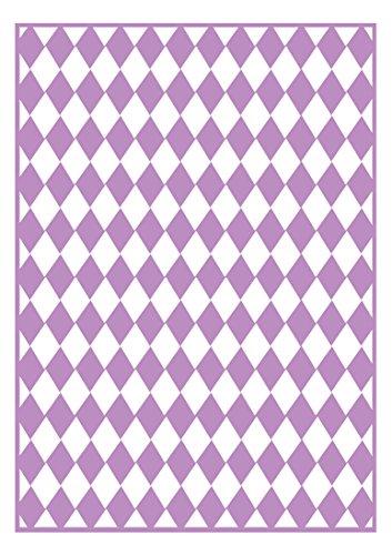 Checkered Folder (Craftwell USA Craftwell Embossing Folder, Checkered Argyle)