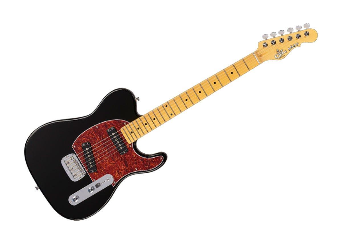 G&L Tribute Series Asat Special Electric Guitar - Gloss Black/Maple - TI-ASP-112R01M43