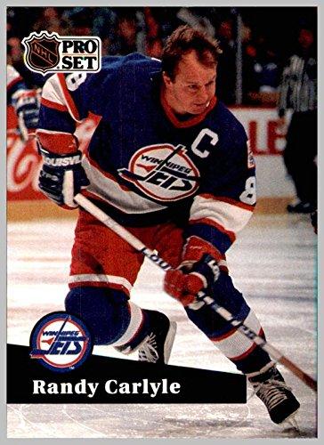 1991-92 Pro Set #273 Randy Carlyle WINNIPEG JETS