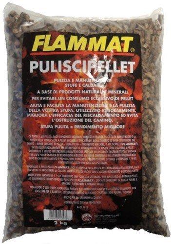 Flammat Limpiador de estufas y calderas de pellets, paquete de 2 kg: Amazon.es: Hogar