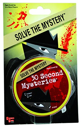University Games Mystery, Mind and Logic - 30 Second Mysteries
