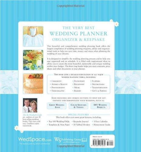 Very Best Wedding Planner Organizer