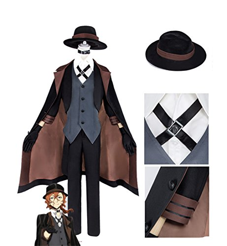 Children's Dog Costumes Uk (Bungou Stray Dogs Nakahara Chuya cosplay costume cosplay costume)