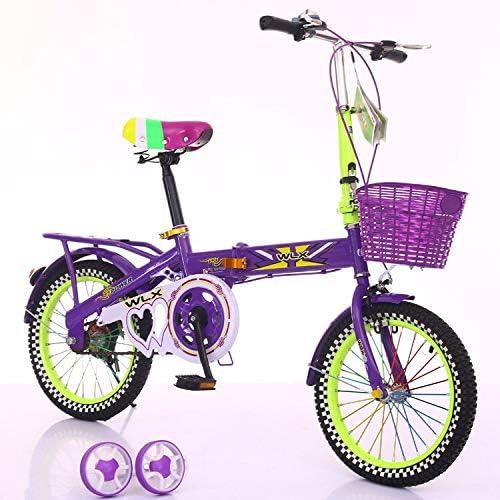 SXZHSM Bicicleta For Niños con Carrito De Cinturón De Seguridad ...