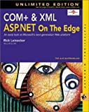 COM+ and XML : ASP on the Edge, Unlimited Edition, Leinecker, Rick, 076454781X