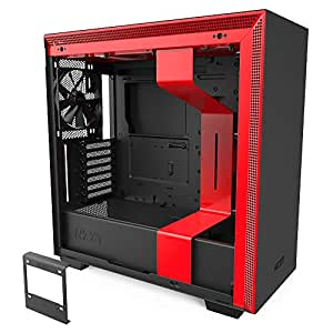 NZXT PC Game Case Black/Red H710