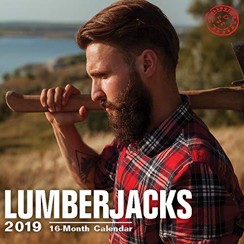 Hot Guys Wall Calendars by Bright Day Calendars 16 Month Wall Calendars 12 x 12 Inches (Lumberjacks 2020)