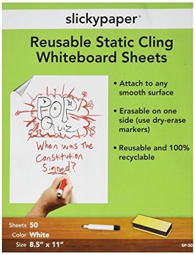 (SlickyPaper 3 Pads per Pack 8.5 X 11 Inches 50 Sheets per Pad)