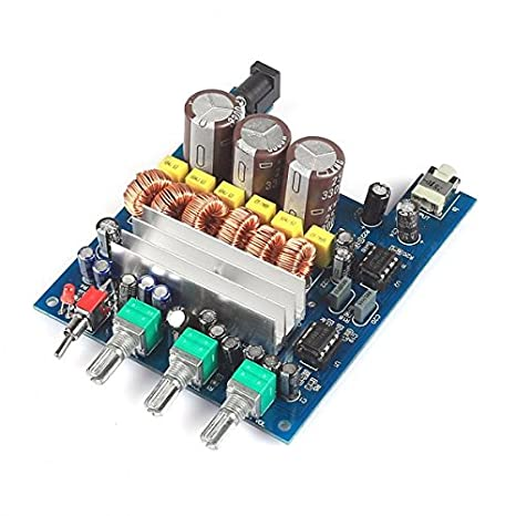 Amazon.com: SainSmart 12V 50Wx2+100W TPA3116D2 2.1 HIFI Digital Subwoofer Amplifier Verst Board: Computers & Accessories