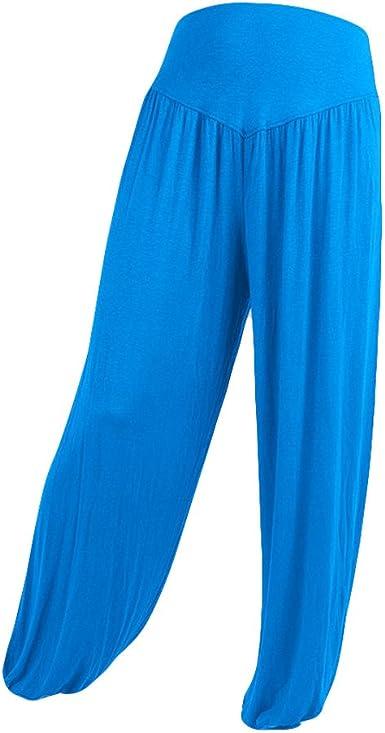 Plus Size Yoga Pants,Women Casual Modal Cotton Soft Yoga Sports Dance Harem Pants Trousers