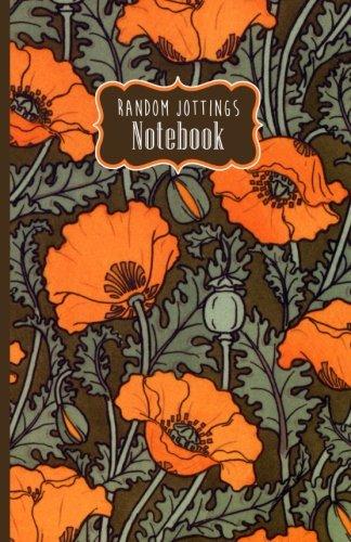Russ Billington Notebooks: Art Nouveau Red Poppies (Poppy Art Nouveau)