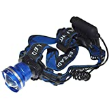 LED Headlamp 1200 Lumens - 3 Modes Zoomable - Best & Brightest light