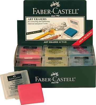 Kneadable Eraser From Faber Castell, Package of 18 by Faber Castell