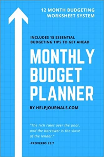 amazon budget planner monthly budget budget workbook bill