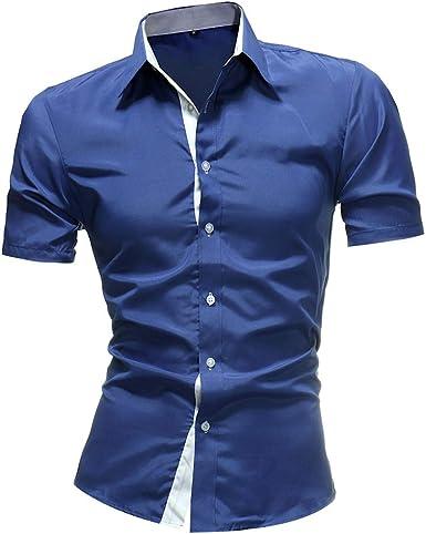 SFYZY Camisa De Hombre De Color Empresarial A Juego con Talla ...