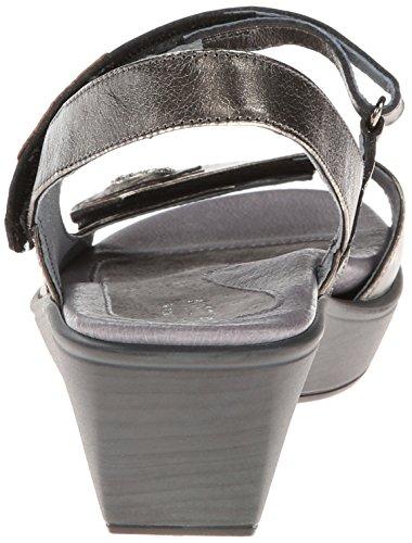 Naot Women's Reserve Wedge Sandal Metal 2uVFaRC