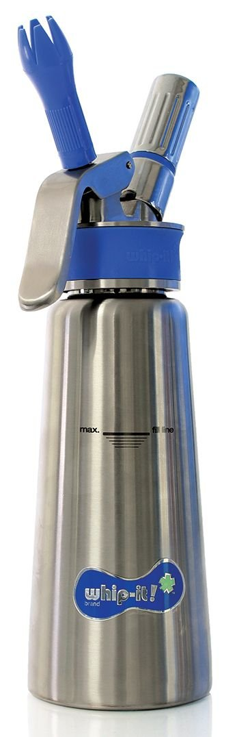 Whip-It! Brand Specialist Plus 1/2-Liter, 100% Stainless Steel
